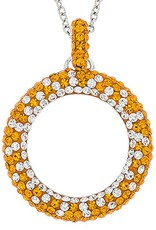 "Chelsea Taylor ""TENNESSEE"" CIRCLE PENDANT"
