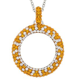 """Chelsea Taylor """"TENNESSEE"""" CIRCLE PENDANT"""