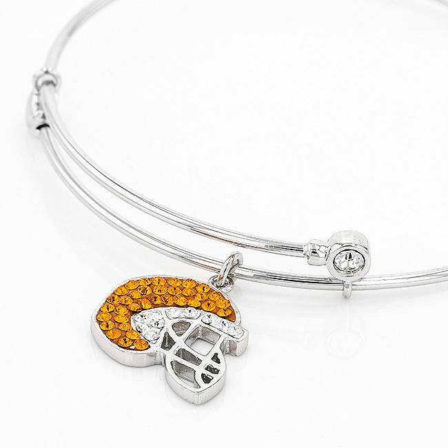 Chelsea Taylor FOOTBALL HELMET GAMEDAY CHARM BRACELET