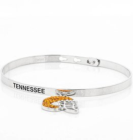 MEMORY BANGLE WITH DANGLE FOOTBALL HELMET