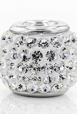 Chelsea Taylor WHITE CRYSTAL CHARM