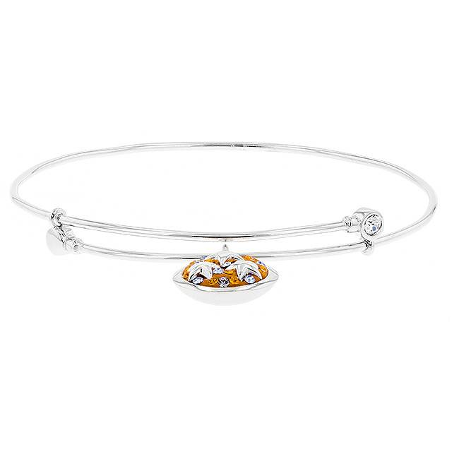 bangles trio london crystal set gold swarovski hearts silver star lipsy bangle dp