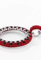 Chelsea Taylor RHOD OVER BRASS RED/BLACK