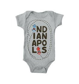 Kitten & Acorn:  Race Car Onesie