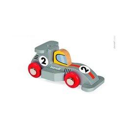 Janod Wooden Formula 1 Toy Racecar
