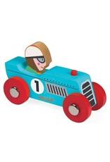 Janod Wooden Retro Motor Toy Racear