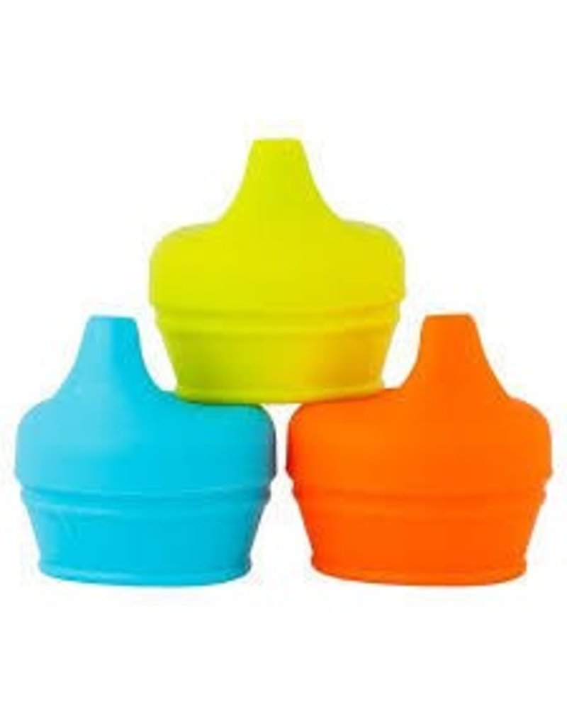 Tomy/Boon Boon Snug Spout Sippy Lid: Yellow/Blue