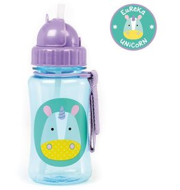Skip*Hop Skip Hop Straw Bottle: Unicorn