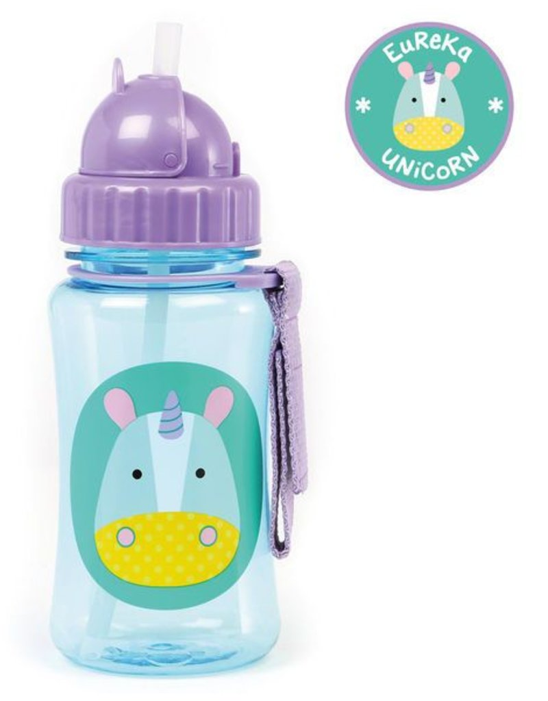 Skip*Hop Skip Hop Straw Bottle: Unicorn