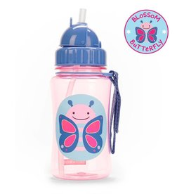 Skip*Hop Skip Hop Straw Bottle: Butterfly