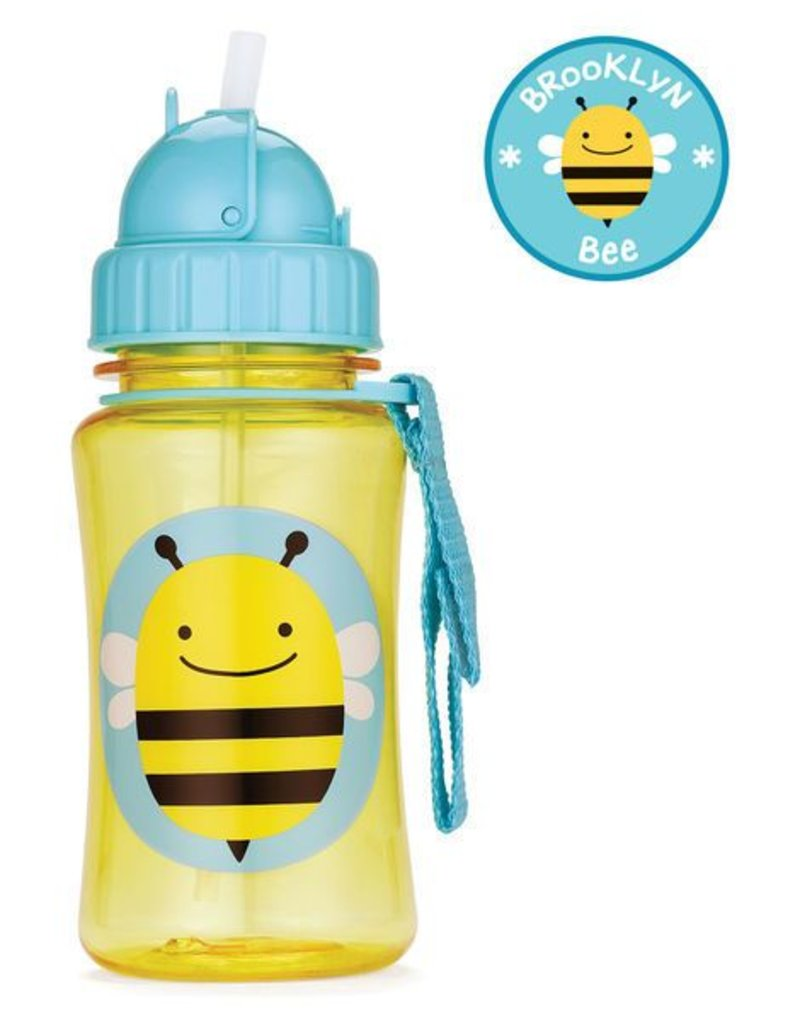 Skip*Hop Skip Hop Straw Bottle: Bee