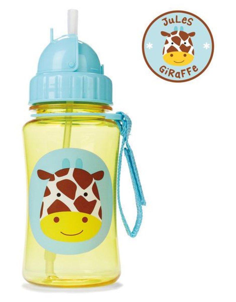 Skip*Hop Skip Hop Straw Bottle: Giraffe