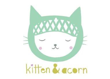 Kitten and Acorn