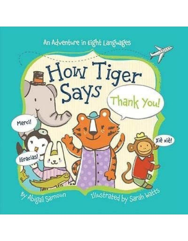 How Tiger Says Thank You