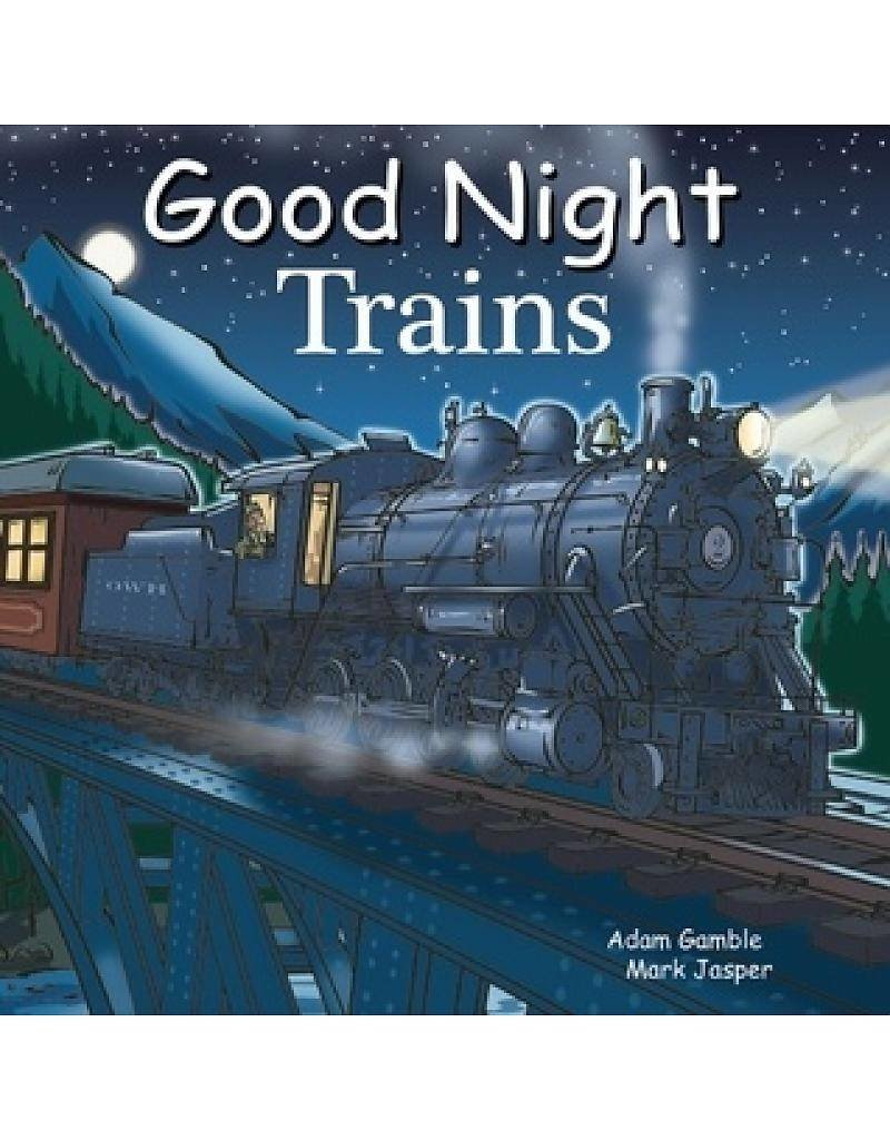 Good Night Trains Board Book