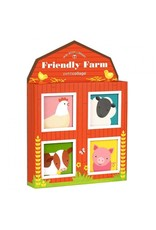Petit Collage Petit Collage Friendly Farm Mini Library