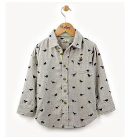 Hatley Flannel Dino Button Down Shirt