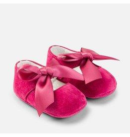 Mayoral SALE! Raspberry Bow Mary Jane Pram Shoes