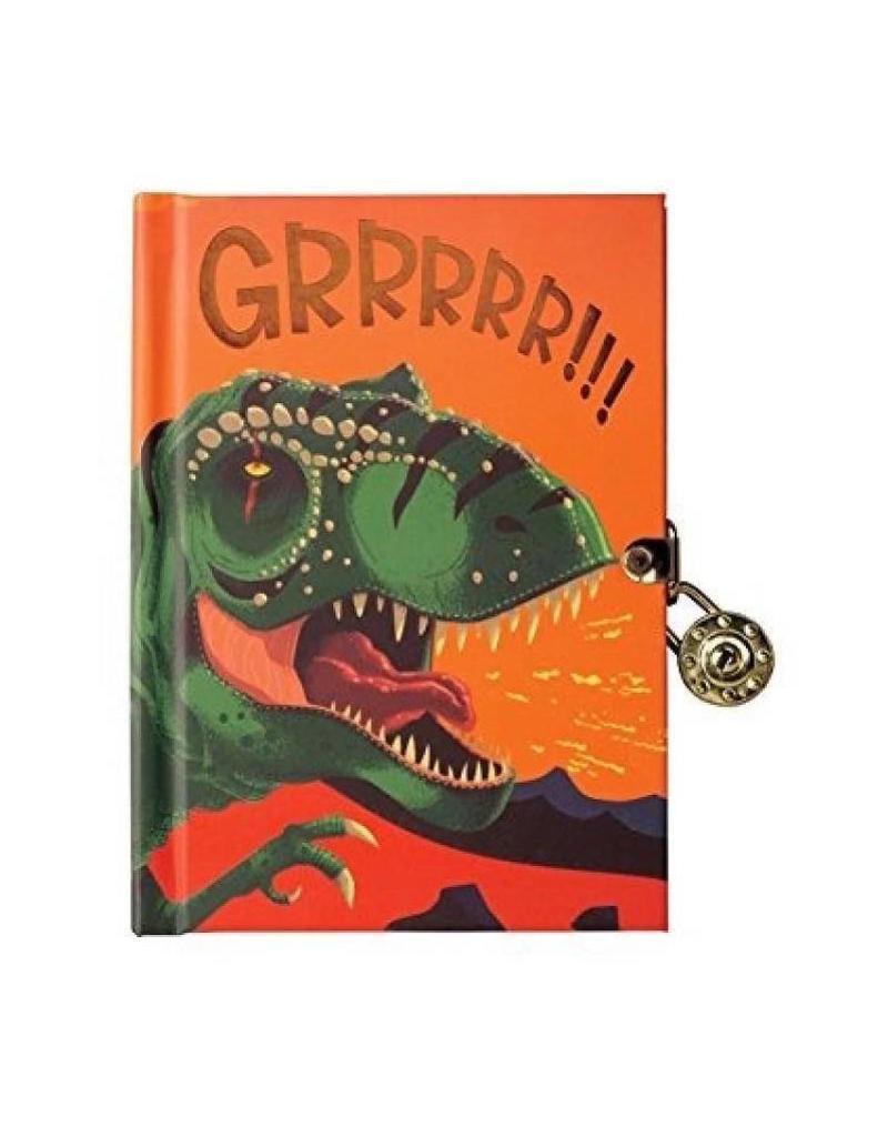 Dinosaur Locked Diary by muduppy