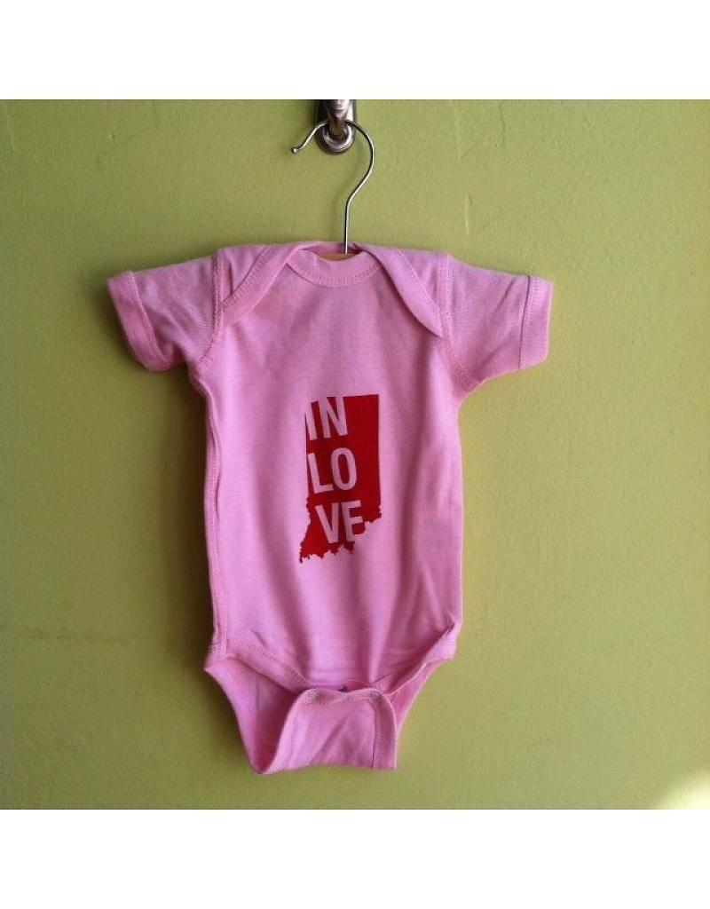"Sunday Afternoon Housewife:  ""In Love"" Onesie"