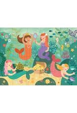 Petit Collage Petit Collage Floor Puzzle Mermaid Friends