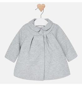 Mayoral Cloth Coat with Peter Pan Collar