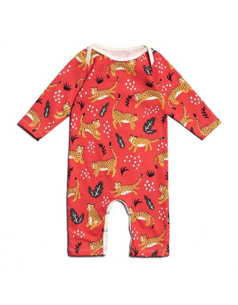 Winter Water Factory Organic Cotton Wildcats Romper