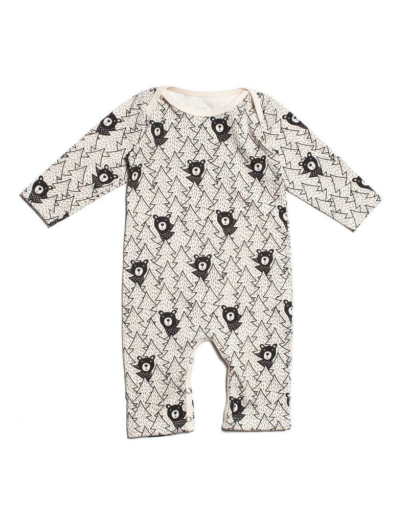 Winter Water Factory Winter Water Factory: Organic Bears Romper