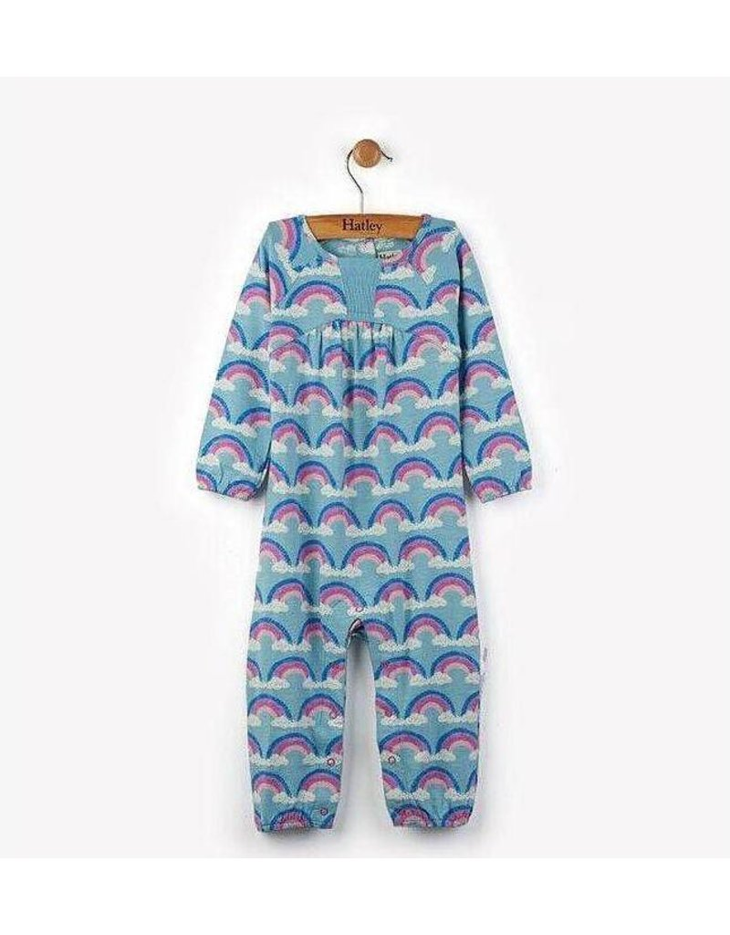 Hatley Rainbow Love Long Sleeve Romper