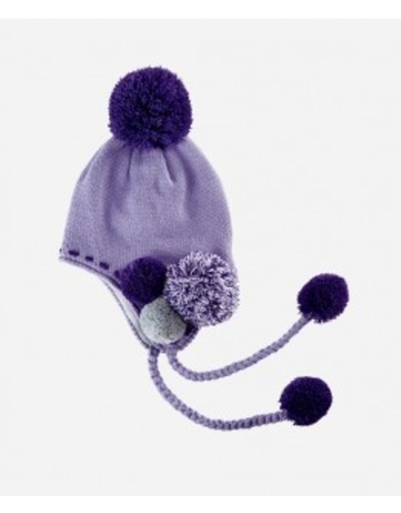 Pom Pom Earflap Hat