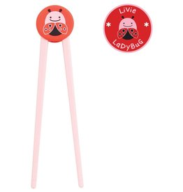 Skip*Hop Zoo Training Chopsticks: Ladybug