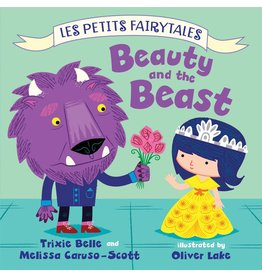 Les Petits Fairytales: Beauty and the Beast Board Book