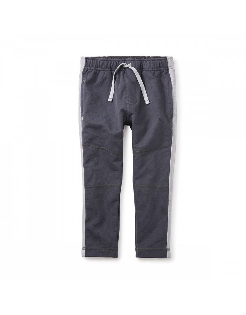 Tea Collection Tea Collection: Side Stripe Sport Pants in Coal