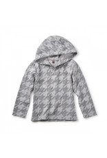 Tea Collection Tea Collection: Houndstooth Happy Hoodie