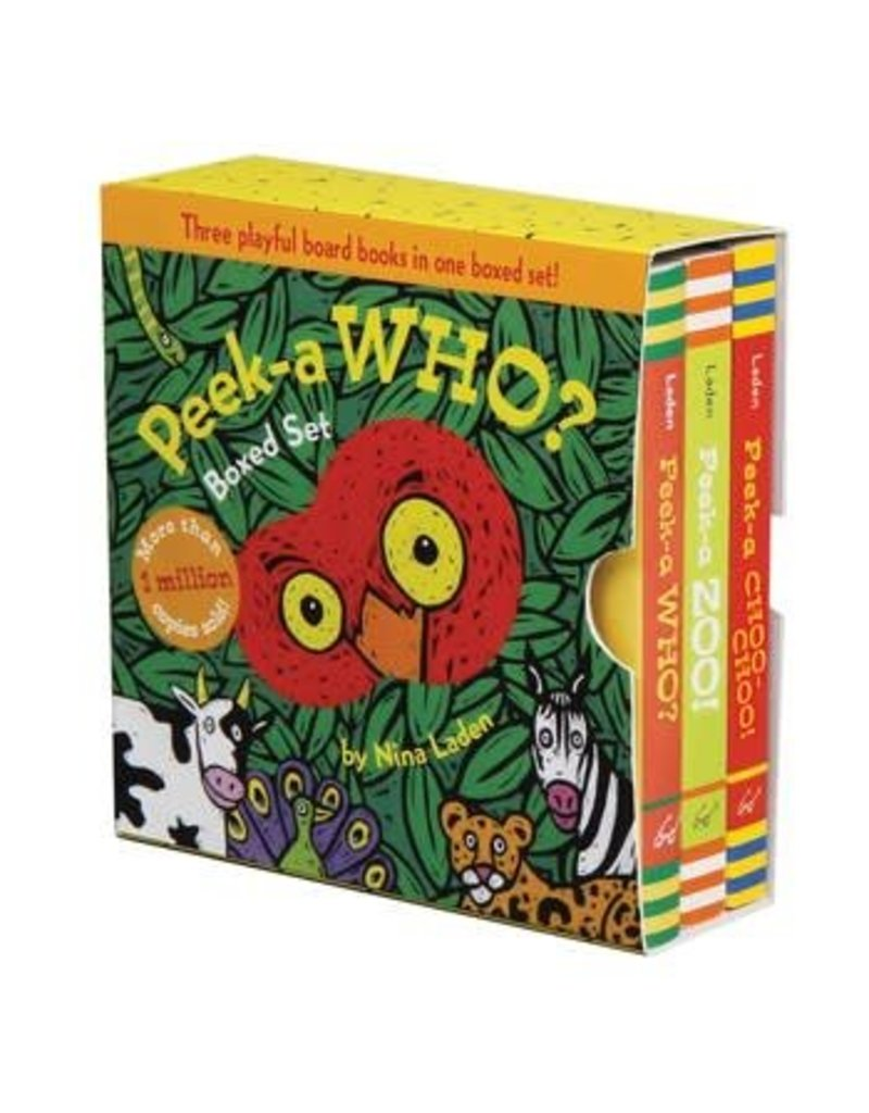 Peek-A-Who? Boxed Set