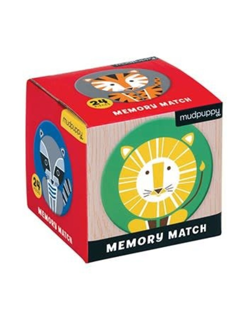 Geometric Animals Memory Match
