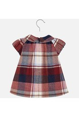 Mayoral Mayoral: Mad for Plaid Baby Dress