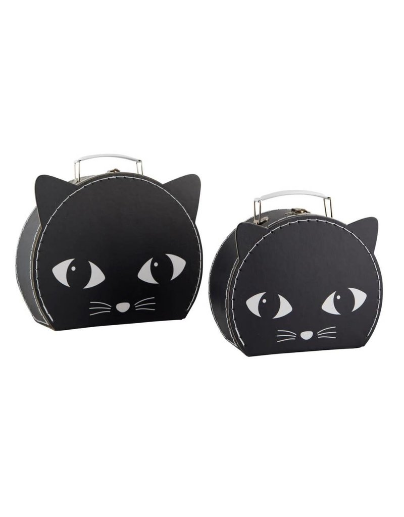 Sass & Belle Sass & Belle:  Black Cat Suitcase Set