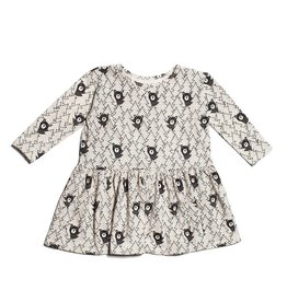 Winter Water Factory Organic Cotton Olga Dress in Bears