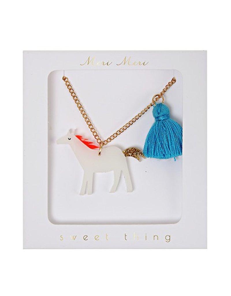 Meri Meri Meri Meri: Tassel Horse Necklace