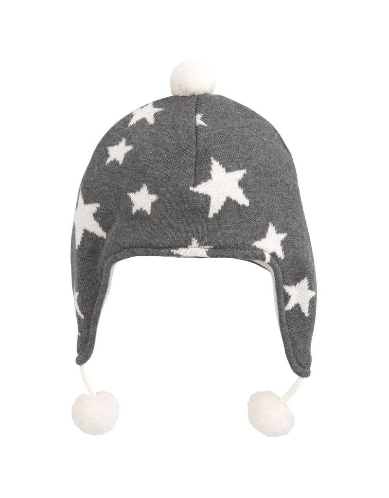 Knit Star Aviator Hat