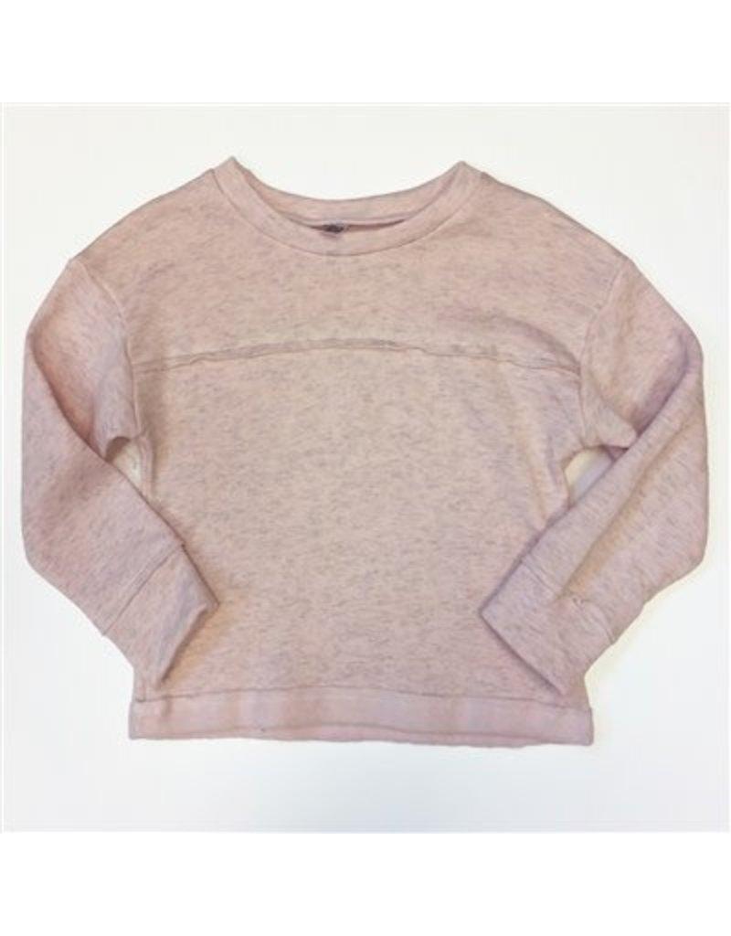 Nano Nano: Girls Pink Fleece Sweatshirt