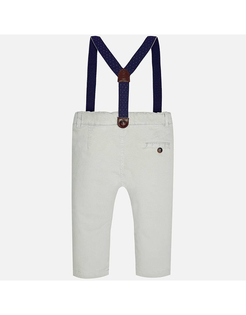 Mayoral Chino Pants with Suspenders