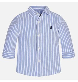 Mayoral Mayoral: Ticking Stripe Baby Shirt