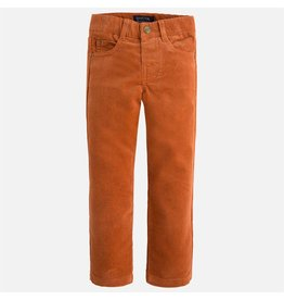 Mayoral Mayoral: Corduroy Trousers in Clay