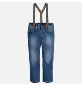 Mayoral SALE! Mayoral:  Denim Trousers with Suspenders