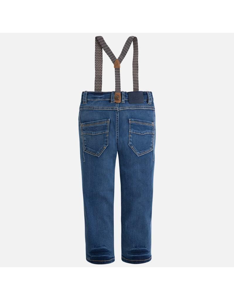 Mayoral SALE! Mayoral:  Denim Trousers with Suspenders