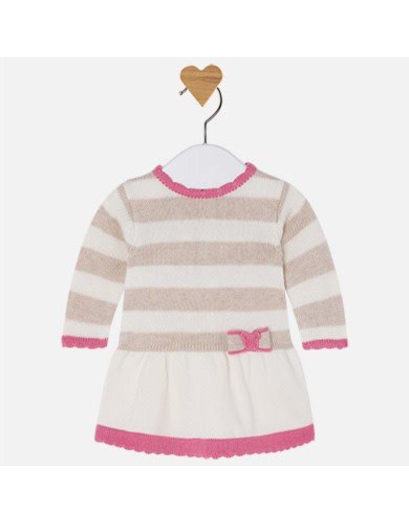 Mayoral Mayoral: Striped Sweater Dress