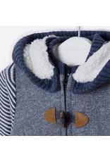 Mayoral Mayoral: Sherpa Lined Zip Up Hoodie