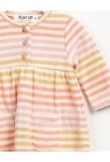 Play Up Play Up: Striped Jacquard Dress